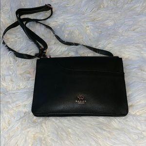 Radley London, crossbody bag, black calf leather